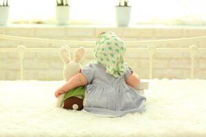 zabawki niemowlę