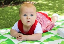 niemowlę lato