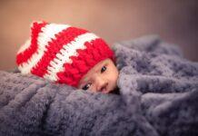 niemowlę zima